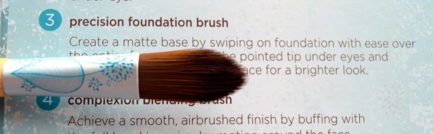 Eco Tools Festive and Flawless brushes 5