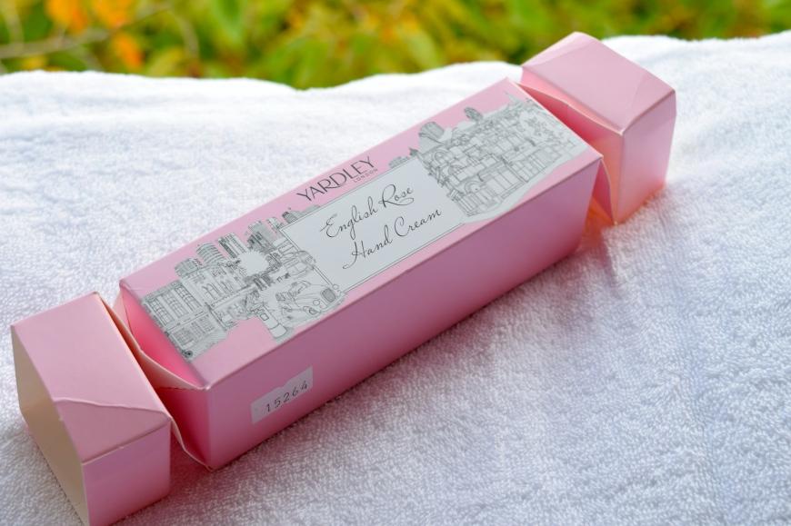 Yardley Rose Hand Cream Cracker